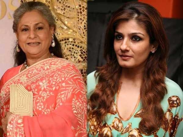 Raveena Tandon supports Jaya Bachchan on Rajya Sabha row