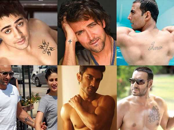Check out the coolest tattoos of Bollywood