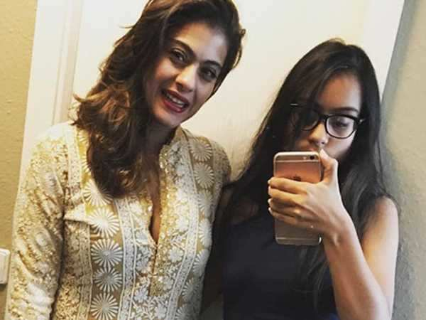 Nysa Devgn gets embarrassed by mommy Kajol's Instagram affection!