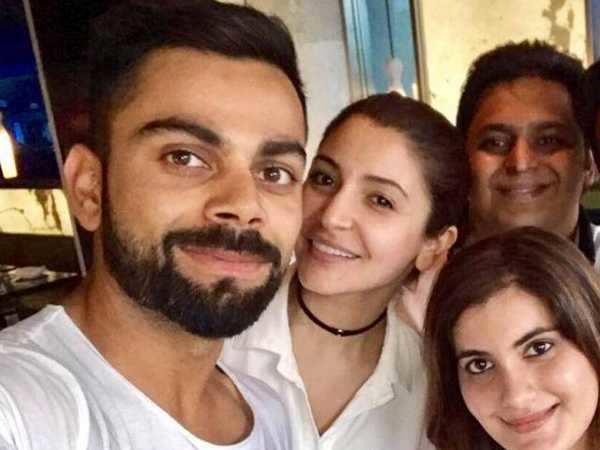 Virat Kohli and Anushka Sharma spotted on a lunch date