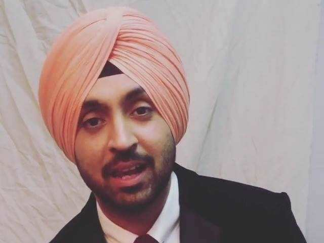Filmfare Awards 2017 Winner - Diljit Dosanjh for Best Debut (Male)