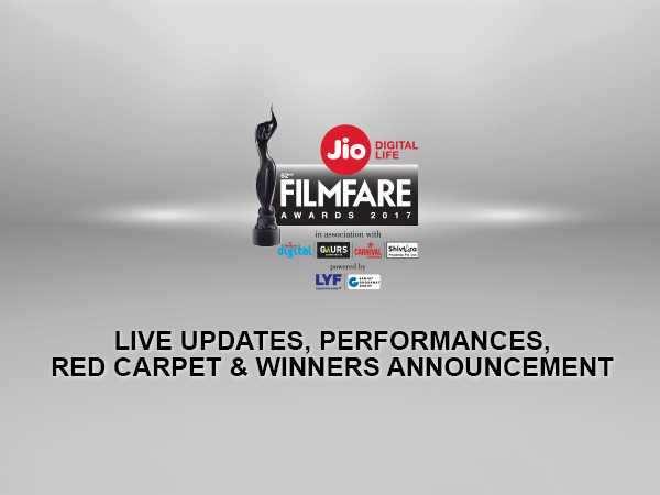 Filmfare Awards 2017 LIVE updates