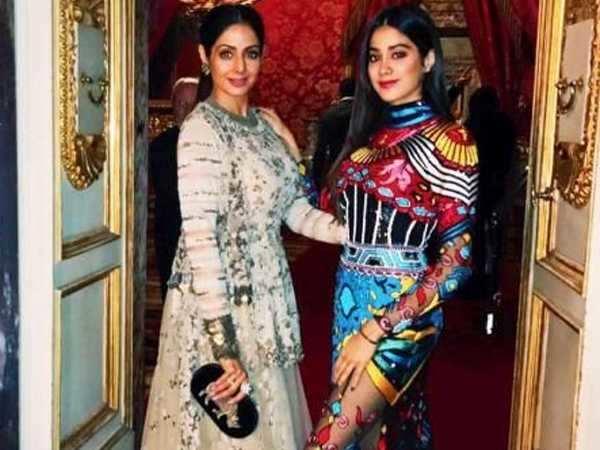 Sridevi and daughter Jhanvi Kapoor dazzle in Florence