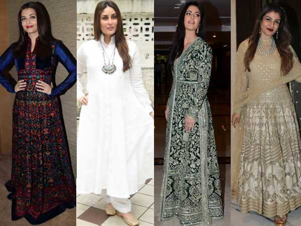 ​How Bollywood divas are rocking the anarkali trend