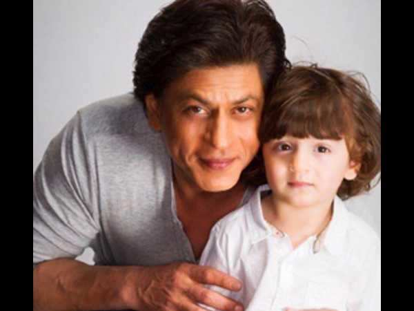 Shah Rukh Khan's dancing inspiration is AbRam