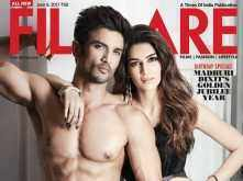 Sushant Singh Rajput and Kriti Sanon sizzle on Filmfare's latest cover