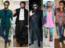 Birthday Special: 32 times Ranveer Singh made fashion headlines