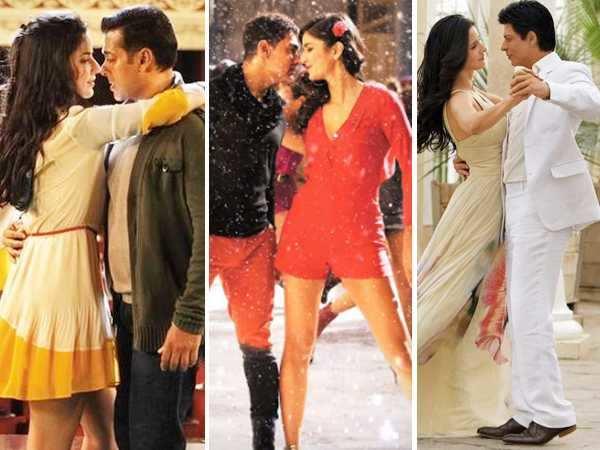Katrina Kaif on working with Aamir Khan, Salman Khan and Shah Rukh Khan at the same time