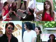 Shah Rukh Khan and Anushka Sharma's BTS video of the song Radha is too much fun