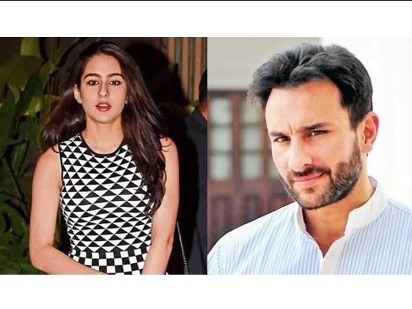 Saif Ali Khan shuts down rumors about daughter Sara Ali Khan's acting debut