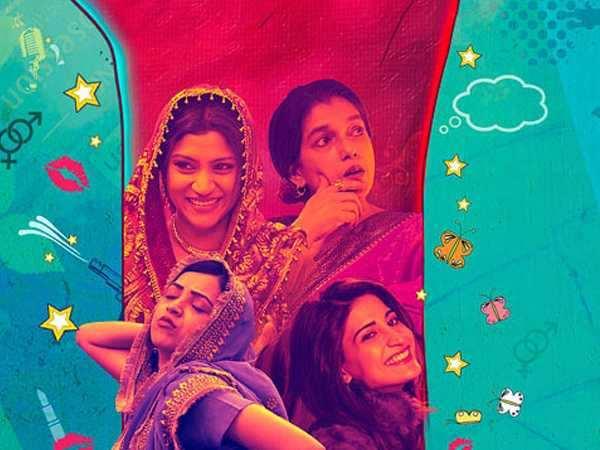 Lipstick Under My Burkha poster defies patriarchy