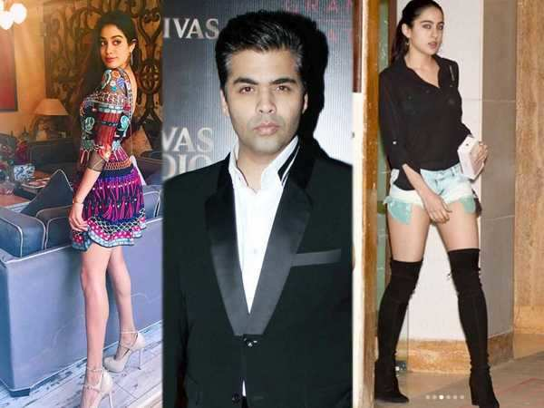 Not Sara Ali Khan but Jhanvi Kapoor to debut in Karan Johar's Student Of The Year 2
