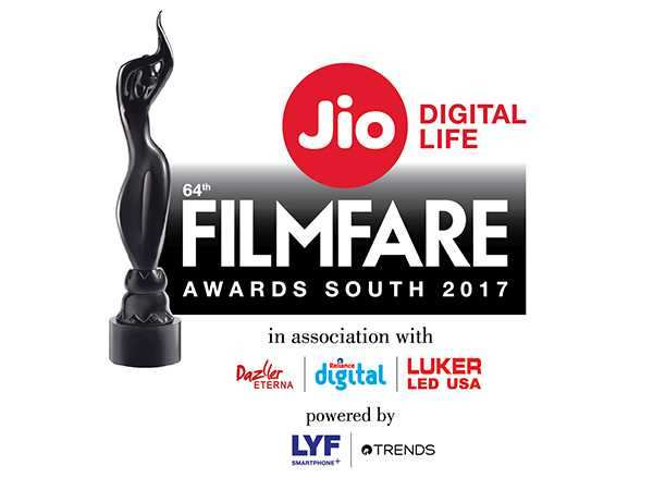 Winners of the 64th Jio Filmfare Awards (South)