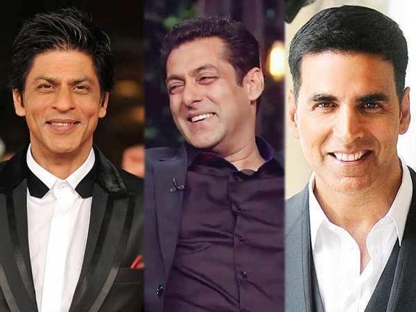 Shah Rukh Khan, Salman Khan and Akshay Kumar listed on Forbes' 100 highest paid global celebs