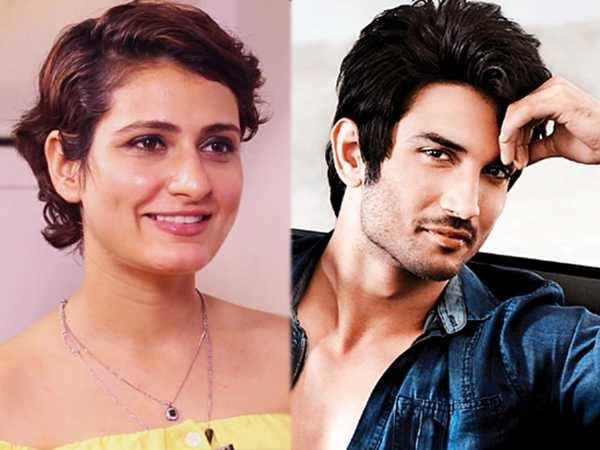 Fatima Sana Shaikh declines film with Sushant Singh Rajput