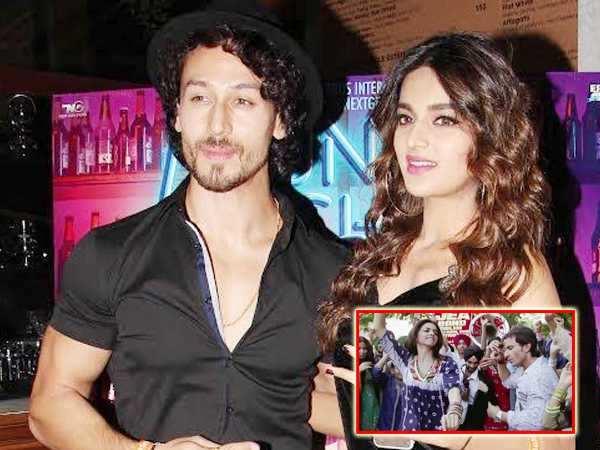 Tiger Shroff and Nidhhi Agerwal recreate Chor Bazaari from Love Aaj Kal