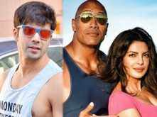 Varun Dhawan's Twitter conversation with The Rock and Priyanka Chopra is an interesting one