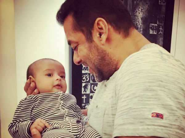 Salman Khan will fly down to Maldives to celebrate nephew Ahil's first birthday