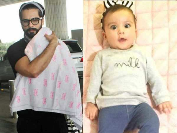 Here's what Shahid Kapoor did when he held Misha for the first time