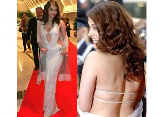 Aishwarya in Neeta Lulla gown at Cannes