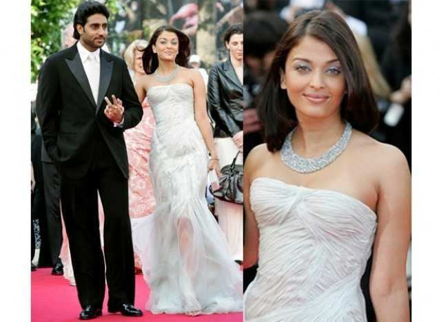 Aishwarya and Abhishek at Cannes 2007