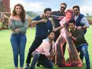 Ajay Devgn, Parineeti Chopra and team Golmaal Again, promote Meri Pyaari Bindu