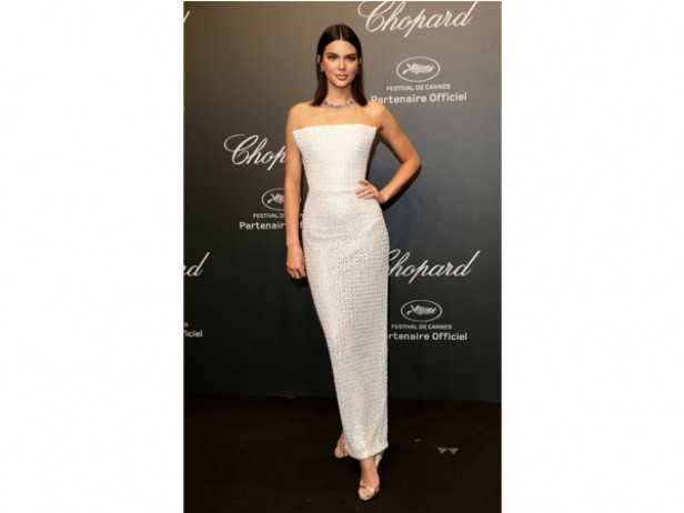 Kendall Jenner in Ralph & Russo