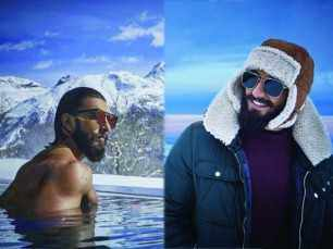 What didRanveer Singh do on his trip to Switzerland?