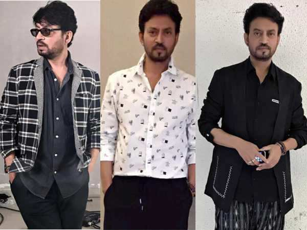 Irrfan redefines edgy while promoting Hindi Medium