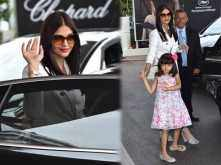 Aishwarya Rai Bachchan spotted chilling with daughter Aaradhya in Cannes