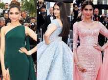 Four designers give their verdict on Aishwarya Rai Bachchan, Deepika Padukone and Sonam Kapoor's Cannes appearances