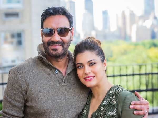 Ajay Devgn and Kajol head to Maldives for their family vacay