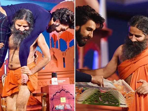 Ranveer Singh to be the first guest on Baba Ramdev's reality show