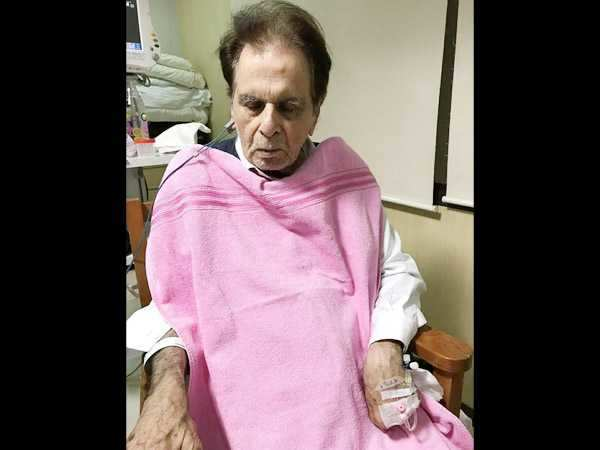 Latest update and picture: Dilip Kumar is still in the ICU; his condition is getting stable