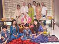 Hrithik Roshan and Sussanne Khan celebrate Ganesh Chaturthi together