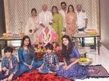 Hrithik Roshan and Sussanne Khan celebrate Ganesh Chaturthi together