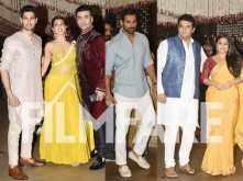 Ganesh Chaturthi 2017: Suniel Shetty, Aditya Roy Kapur, Arjun Kapur and Karisma Kapoor attend Mukesh Ambani's party