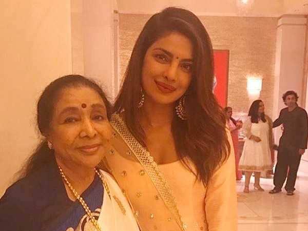 Asha Bhosle praises Priyanka Chopra