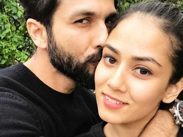 Shahid Kapoor shares a picture of him and wife Mira Kapoor with the cutest caption ever