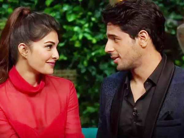 Here's what Sidharth Malhotra has to say about his link-up rumors with Jacqueline Fernandez