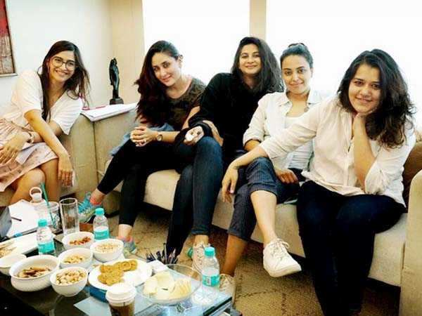 Kareena Kapoor and her girl gang start prepping for the film