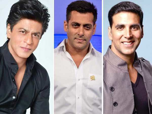 Shah Rukh Khan, Salman Khan and Akshay Kumar are the only Indians on the Forbes highest paid celebrity list