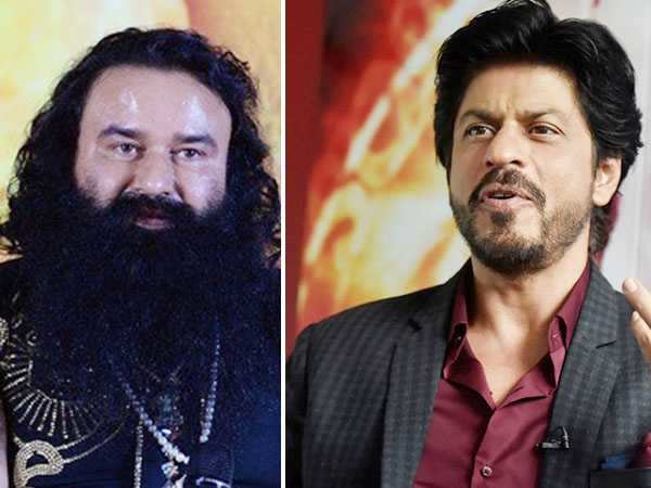 Here's what Shah Rukh Khan has to say about Gurmeet Ram Rahim Singh
