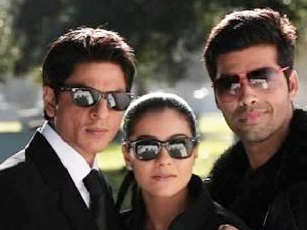 Karan Johar has the sweetest caption for his throwback photo with Shah Rukh Khan and Kajol