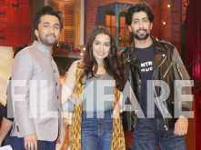 Shraddha Kapoor and Siddhanth Kapoor promote Haseena Parker on a popular TV show