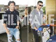 Vidyut Jammwal and Angad Bedi look handsome as they were spotted at the airport
