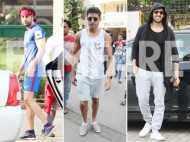 Ranbir Kapoor, Farhan Akhtar and Kartik Aaryan enjoy their weekend in the city