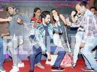 WOW! Ayushmann Khuranna, Kriti Sanon and Rajkummar Rao groove at the music launch of Bareilly Ki Barfi