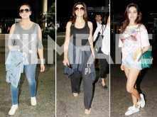 Huma Qureshi, Sushmita Sen and Nidhhi Agerwal rock their airport looks!