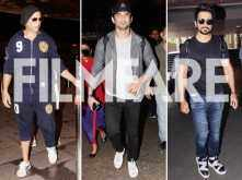 Akshay Kumar, Sushant Singh Rajput and Sonu Sood snapped at the airport